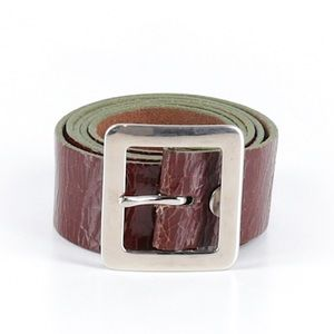 Accessories - Tracy Watts Brown Leather BoHo Belt Size 38